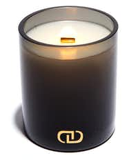 """DayNa Decker Botanika """"Exotic Chandel"""" candle with crackling wood wick, $42, Neiman Marcus"""