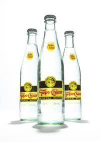 Architect Jessica Stewart's favorite water is Topo Chico