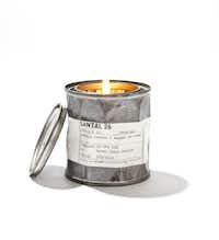 "Jessica Stewart is loving the Le Labo ""Santal 26"" candle in vintage tin, $60, Barneys New York"