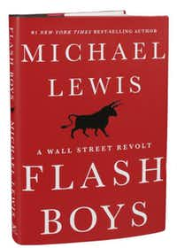 In his book, Michael  Lewis examines the dangers of high-speed trading.The New York Times