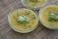 Thai butternut squash soupMatthew Mead - AP