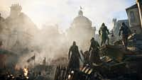 """A scene from the video game """"Assassins Creed: Unity."""" The lack of female protagonists at E3 highlighted an ongoing issue in the video game industry."""