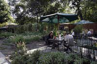 An adjacent garden gives the Garden Cafe its name and some of its produce, not to mention patio dining when the weather's pleasant.