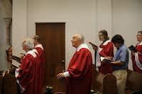 Geroge Zarafonetis began singing in his church choir at age 12.