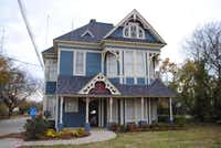 The Gingerbread House, 210 S. Broad St., is one of four homes featured on the Cedar Hill Holiday Tour of Homes. The home, built in 1884, currently houses the Cedar Hill Women's Center.Photo submitted by LAURA BEIL