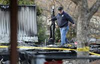 """Hood County Fire Marshal Brian Fine said the mobile home was so engulfed by flames that """"response time did not play any role."""""""