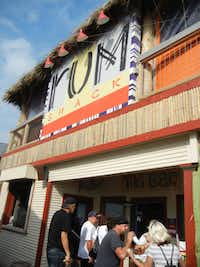 Rum Shack is the latest addition to to the collection of bars attached to long-popular The Spot overlooking the Gulf of Mexico.