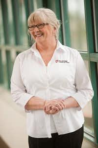 Mary Humphrey, oncology nurse at The Medical Center of Plano has lost 50 pounds.