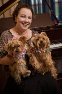 Dr. MaryEllen Cavalier, pediatric oncologist at Children's Medical Center plays the piano as a form of therapy.