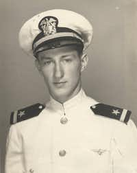 U.S. Rep. Ralph Hall of Rockwall in his Navy days during World War II