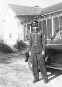 A young Henry Grady Stanley poses in full uniform after the war in 1945.Photo submitted by DARYL STANLEY