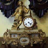Choose from a variety of antique clocks.
