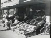 Ben Massar owned a grocery store in Holland prior to immigrating to the United States and opening up the Dutch Art Gallery in 1965. Massar began the grocery business when he was 14, selling produce door to door, and eventually setting up a brick-and-mortar shop in Delft, Holland, Netherlands.Photo submitted by PAM MASSAR