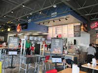 "Toni Niece, Luby's spokesperson, described the décor: ""Fuddruckers presents a fresh take on the chain's signature, roadhouse look with a design that caters to today's more sophisticated tastes with an environment that is ideal for a family outing or a date night.""Courtesy of Luby's"