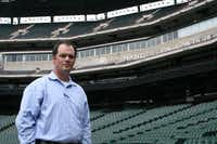 A lifelong baseball and Texas Rangers fan, Flower Mound native Bobby Crook has gone from dreams of playing with and covering the team to actually working in the front office as a scouting manager.