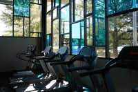 New fitness equipment was part of a million dollar renovation at Harry Stone Recreation Center.