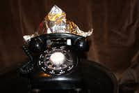 Even my phone wears a tin-foil hat, says Elizabeth Rose.