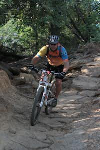 David Drury, a trail steward for the Dallas Off Road Bicycle Association, considers the Northshore Trail his favorite.