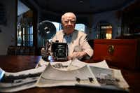 Jim Ryan, 81, a former photo stringer for the Chicago Tribune, was driving on Harry Hines Boulevard on Nov. 22, 1963, when word broke over his car radio that President John F. Kennedy had been shot. With his camera in the car, he instinctively acted to take photos of the various scenes of aftermath. The images later ran in a Sunday edition of the Chicago Tribune.ROSE BACA