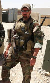 An undated photograph shows U.S. Army Staff Sgt. Jeremie Border. The Green Beret died Saturday in combat in Afghanistan.