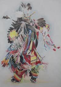 """Spirit Dancer"" by Janet (Jessi) BullardColored Pencil Society of America"
