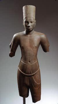 Harihara Style of Prasat Andet, Kompong Cham,Cambodia.Kimbell Art Museum