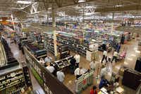 The Kroger Marketplace, opening Friday, is taking on the Wal-Mart in Forney. City leaders hope it will kick-start a budding shopping district.