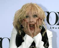 """Actress Cyndi Lauper poses on May 1, 2013 during a photo session for Tony Awards nominees on May 1, 2013. Lauper is nominated for Best Original Score (Music and/or Lyrics) Written for the Theater for """"Kinky Boots."""" AFP PHOTO / TIMOTHY A. CLARYTIMOTHY A. CLARY/AFP/Getty Images"""