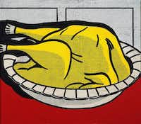 """Turkey"" (1961, oil on canvas) by Roy LichtensteinEstate of Roy Lichtenstein, private collection"