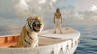 """Surah Sharma in a scene from """"Life of Pi,"""" directed by Ang Lee."""