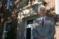 University Park city manager Bob Livingston will retire later this month after 23 years in his position.DMN file photo