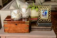 Family keepsakes, DIY projects and refurbished finds add warmth and interest to a minimalist palette.