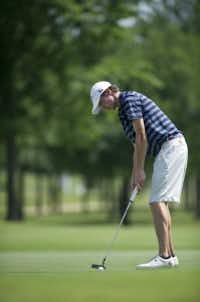 Levi Pettit, seen here in a 2013 photo, was a star golfer at Highland Park High School (Elisabeth Dillon/File photo)