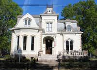 """Fans of the television series """"Designing Women"""" often seek out the """"Villa Marre"""" house in Little Rock. The home was used as the exterior of Sugarbaker Mansion on the show."""