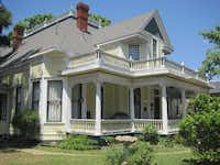 The Three Oaks Bed & Breakfast in Marshall occupies what was once a home, built in 1895.