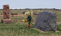 The  graves of Martin and Annie Jacobson, grandparents of Dallas Morning News reporter Gary Jacobson, lie near a loading facility for trains that carry 90,000 barrels of oil a day. It opened a year ago, and plans call for it to nearly double in size this year.