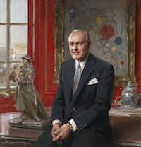 Everett Raymond Kinstler (American, b. 1926), Portrait of Algur H. Meadows, 2001. Oil on canvas. Meadows Museum, SMU, Dallas. Meadows Museum Collection. Gift of The Meadows Foundation.Michael Bodycomb