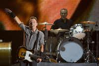 Bruce Springsteen will headline the NCAA March Madness Music Festival next month in Dallas.File  -  The Associated Press