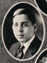 Among Forest Avenue High School's famous graduates was Stanley Marcus, seen in a 1921 yearbook.