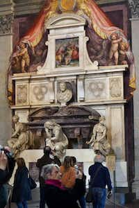 Italy's tombs are as big a draw as some of the other sights.Chris Sullivan  -  AP