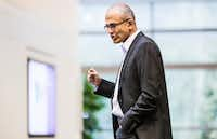 Microsoft's board has chosen longtime company executive Satya Nadella to guide the once-dominant software giant into the future after faltering in recent years amid the rise of mobile computing and as competitors Google, Amazon.com and Apple increasingly threaten its relevance. Nadella will assume the role of chief executive officer and join MicrosoftÕs board immediately. (Microsoft/MCT)Microsoft - MCT