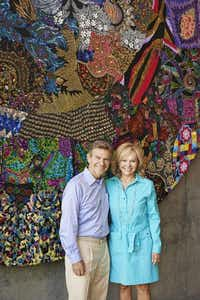 Craig and Kathryn Hall, at Hall Wines in St. Helena, Calif., are producing 40 vintages praised by critics. In Dallas, he is known for real estate, and she for her law career and politics.Adrián Gregorutti  -  Special Contributor
