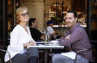 Dana Card and Brian Bolke co-own Number One/Le Jus in  Highland Park Village, which sells refreshments along with high-end women's clothing, accessories and home goods.