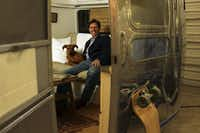 Gabler's son Josh Needleman, the family company's vice president, found a 34-foot Airstream trailer in a field, restored it and decked it out in linens from Peacock Alley.