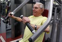 """""""I consider it a good time of my life, that I have good health,"""" says Sanford Alberts. """"When you have good health, everything is possible."""""""