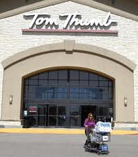 """""""The Tom Thumb experience won't decline because that's part of the value that Albertsons saw,"""" one industry expert says.David Woo  -  Staff Photographer"""