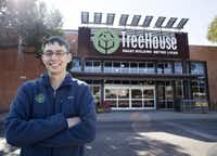 "TreeHouse CEO Jason Ballard says, ""We're going to prove with the Dallas store that we're not a store for special people, we're a store for everyone."" (Thao Nguyen/Special Contributor)"