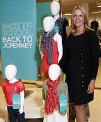 Betsy Schumacher, senior vice president and general merchandise manager of children's wear for J.C. Penney, is making sure in person that stores have the right mix of merchandise.