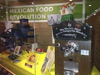 Mariano Martinez's frozen margarita machine is included in a Smithsonian Institution exhibit. The two-year display also recognizes the contributions of the founders of El Chico and Fritos to American food.