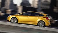 The 2013 Ford Focus ST.